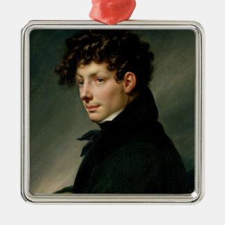 Retrato de un hombre joven como cazador, 1811 ornamento para reyes magos
