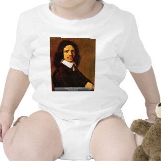 Retrato de un hombre joven de Hals Francisco Traje De Bebé