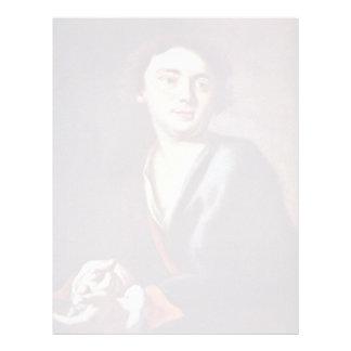 Retrato de un hombre joven de Peter Juan Brandl ( Membrete Personalizado