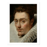 Retrato de un hombre joven de Rubens Tarjetas Postales