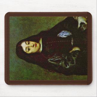 Retrato de un hombre joven de un Don Juan José De  Alfombrillas De Ratones
