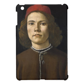 Retrato de un hombre joven por Botticelli