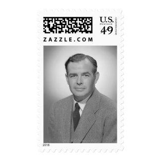 Retrato de un hombre joven sello