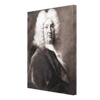 Retrato de un hombre lienzo envuelto para galerias