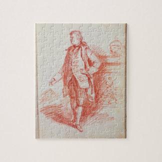 Retrato de un hombre, llamado Edward Gibbon (1737- Rompecabeza