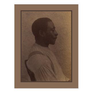 Retrato de un hombre por Eakins Postal