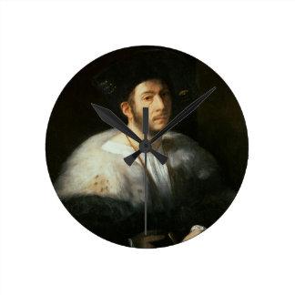Retrato de un hombre posiblemente Cesare Borgia Relojes De Pared