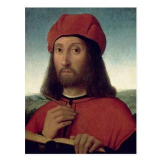 Retrato de un hombre postales