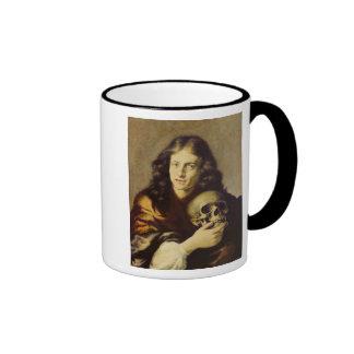 Retrato de un hombre taza