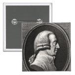 Retrato de un medallón de Adán Smith Pin