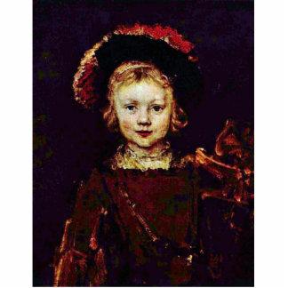 Retrato de un muchacho (hijo de Titus Rembrandt?) Esculturas Fotográficas