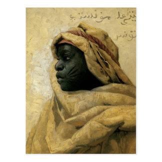 Retrato de un Nubian Tarjeta Postal