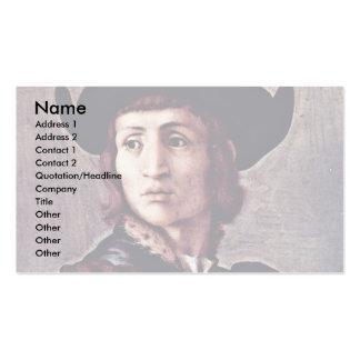 Retrato de un orfebre de Pontormo Jacopo el mejor Plantillas De Tarjeta De Negocio