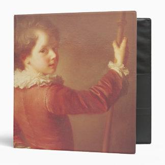 """Retrato de un peregrino joven, 1725 carpeta 1 1/2"""""""