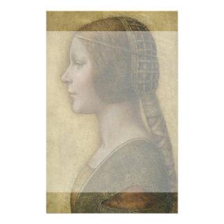Retrato de un prometido joven de Leonardo da Vinci Tarjetones