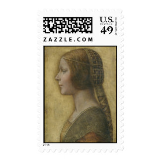 Retrato de un prometido joven de Leonardo da Vinci Sellos