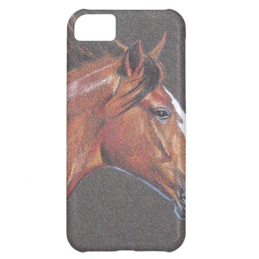 Retrato de un Quarterhorse Funda Para iPhone 5C