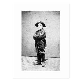 Retrato de un soldado C. 1860-1865 del muchacho. G Postales