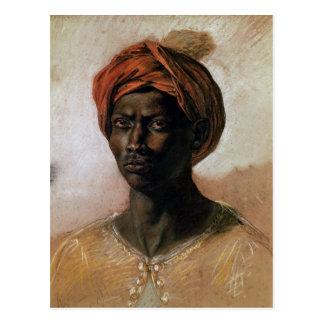 Retrato de un turco en un turbante, c.1826 postal