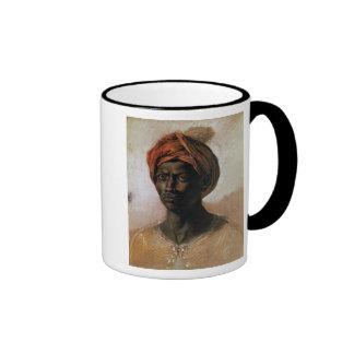 Retrato de un turco en un turbante, c.1826 tazas de café