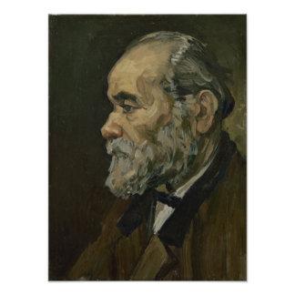 Retrato de un viejo hombre de Vincent van Gogh Cojinete