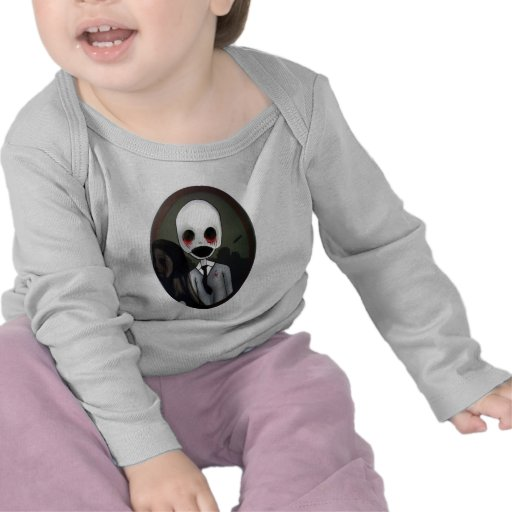 retrato de un zombi camiseta