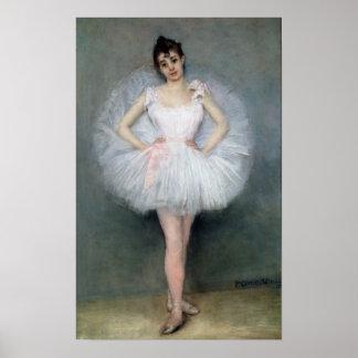 Retrato de una bailarina joven poster