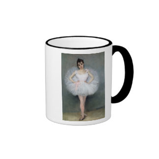 Retrato de una bailarina joven taza