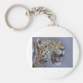 Retrato de una cabeza del tigre llavero