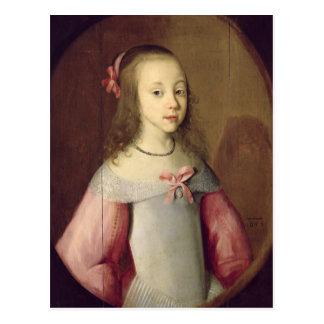 Retrato de una chica joven, 1651 tarjetas postales