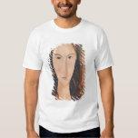 Retrato de una chica joven camisas