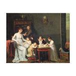 Retrato de una familia, 1800-01 impresión en lona