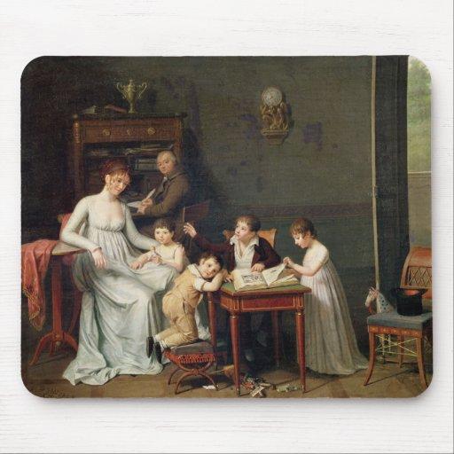 Retrato de una familia, 1800-01 tapetes de ratón
