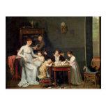 Retrato de una familia, 1800-01 tarjetas postales