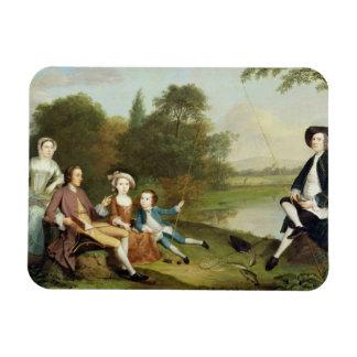 Retrato de una familia conocido tradicionalmente imanes flexibles