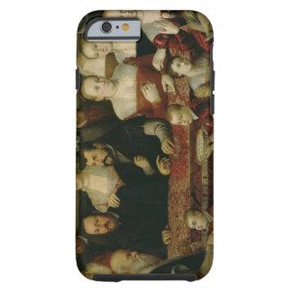 Retrato de una familia grande funda resistente iPhone 6