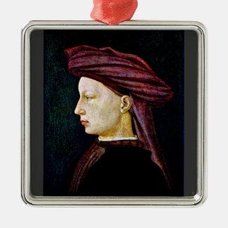 Retrato de una juventud en perfil por Masaccio Ornamentos Para Reyes Magos