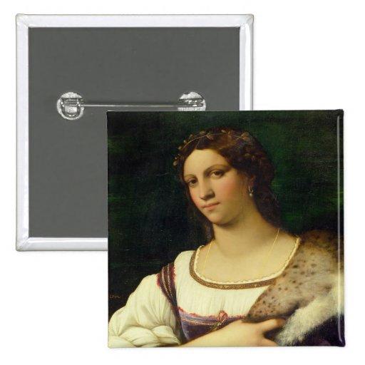 Retrato de una mujer, 1512 (aceite en lona) pin