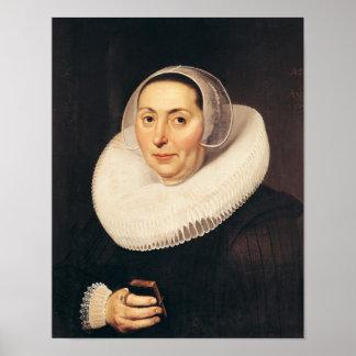 Retrato de una mujer, 1665 impresiones