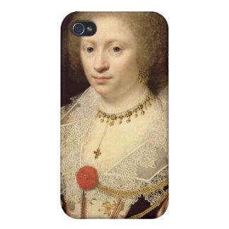 Retrato de una mujer 2 iPhone 4/4S funda