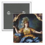 Retrato de una mujer como Minerva, 1730 Pin