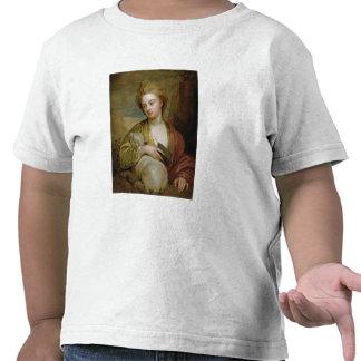 Retrato de una mujer como St. Inés, Camisetas