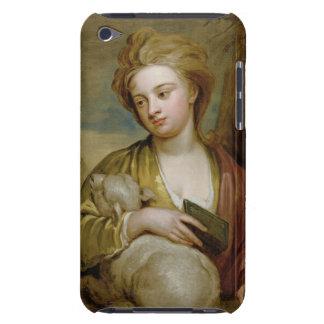 Retrato de una mujer como St. Inés, tradicionalmen iPod Touch Case-Mate Carcasas