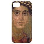 Retrato de una mujer, de Fayum, Romano-Egipcio, iPhone 5 Case-Mate Cárcasa