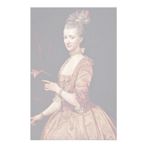 Retrato de una mujer de Maron Antón Von Papeleria