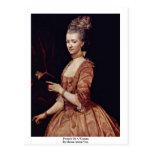 Retrato de una mujer de Maron Antón Von Tarjetas Postales