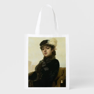 Retrato de una mujer desconocida, 1883 bolsas para la compra