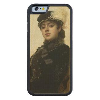 Retrato de una mujer desconocida, 1883 funda de iPhone 6 bumper arce
