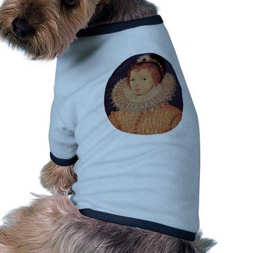 Retrato de una mujer desconocida de Nicholas Hilli Camiseta Con Mangas Para Perro