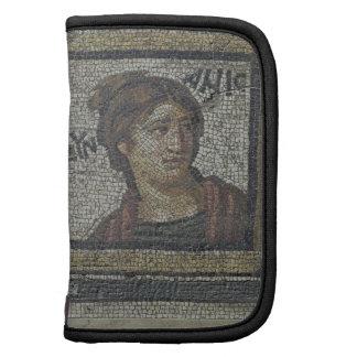 Retrato de una mujer, detalle de un pavimento de m planificador